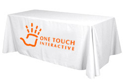 1-color logo table cover