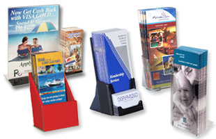 Brochure Stands | Pamphlet Holder Racks & Dispensers