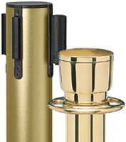 Brass Stanchion Poles
