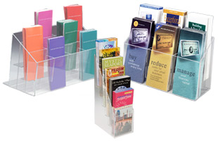 Acrylic Brochure Dispensers