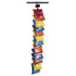 "Hanging Clips Strip, 2.5"" Spaced Hooks"