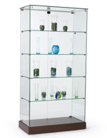 Frameless Tower Displays