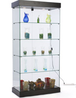 frameless retail cabinet