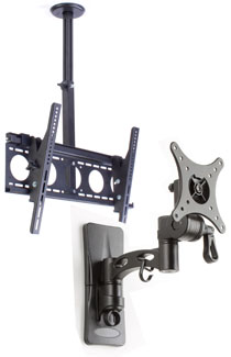 TV Mounting Brackets for Wall, Ceiling & Desk