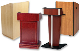 Wooden Laminate Lecterns