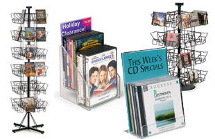 CD & DVD Displays