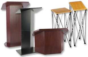 Portable Podiums & Lecterns