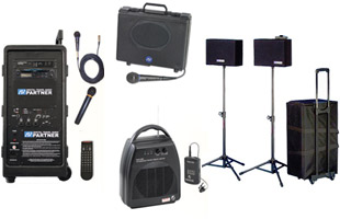 Portable Audio Systems for Lectures