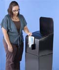 Cheap corrugated ballot boxes are an affordable option