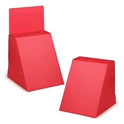 These comment boxes are available in red, white, and black
