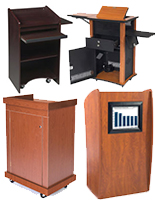 Multimedia Lecterns & Classroom Podiums