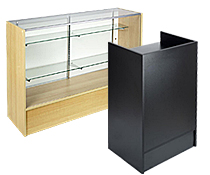 Retail Counter Display Cases