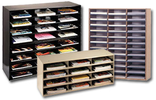 literature organizers for document filing & storage