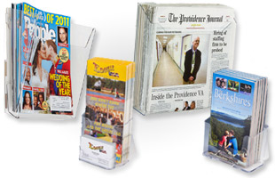 Clear Single Wall Brochure Holders