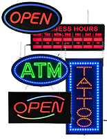Open Close Signs -LED