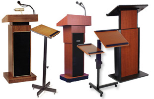 Height Adjustable Podiums