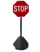 Small Stop Sign for Intersections