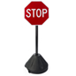 "Small Stop Sign, 17.5"" Base Diameter"