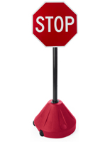 "Rolling Stop Sign, 18"" Overall Width"