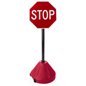 "Rolling Stop Sign, 17.5"" Base Diameter"