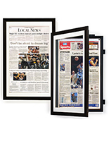 Newspaper Corkboards