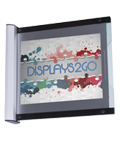 "Perpendicular Sign Holder for 11"" x 8.5"" Graphics"