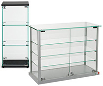 EuroVū Simplice Countertop Display Cases