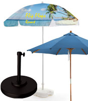 Logo Umbrellas for Outdoor Use
