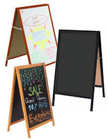 Write-On A-Frame Board