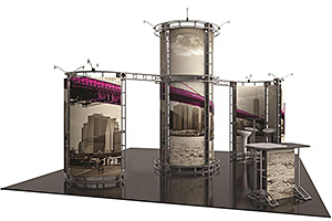 20' x 20' trade show booth displays