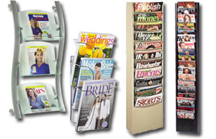 Literature Holders Feature Acrylic Wood Plastic Or