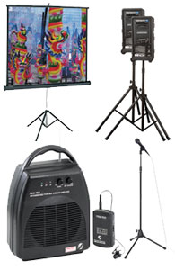 Projector & AV Equipment