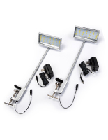 12W LED display arm lights for exhibition stands