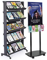 Plastic Poster Stands