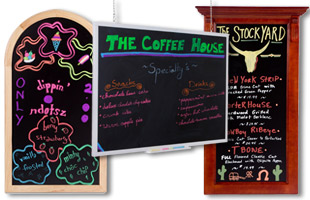 Chalk Boards: Wall-Mounted