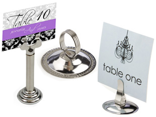 Table Number Holders for Weddings & Events