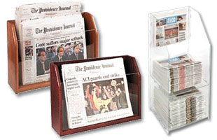 Countertop Newspaper Racks