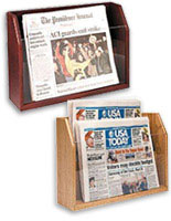 Countertop Newspaper Holders