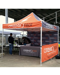 popup canopies with custom printing