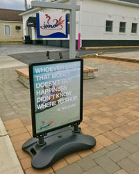 2281-outdoor-signage-displays with weighted base