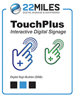 Digital directory software with interactive templates