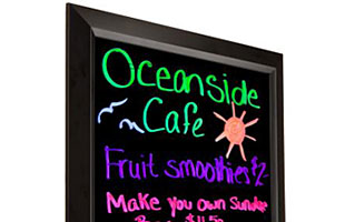 Illuminated Restaurant Menu Boards
