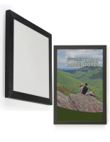 Wall Mounted Picture Frame Sign Holder