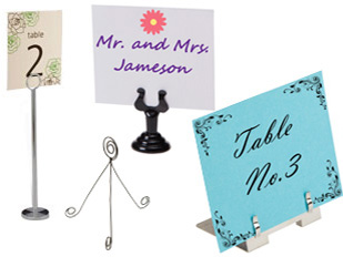 Metal Place Card Holders