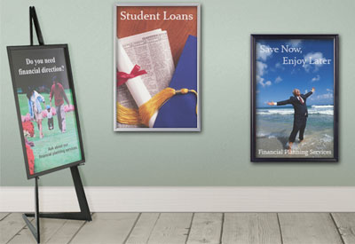 24x36 Poster Frames Commercial Graphics Display Framing