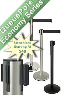 economy stanchions