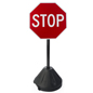Portable Stop Sign, Weighs 12 lbs