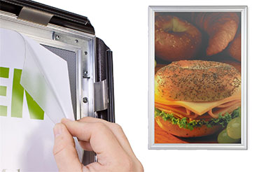 Snap Poster Frames 24x36 27x40 And 18x24 Displays