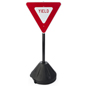 Yield Sign Stand, Weighs 9.5 lbs