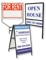 election real estate sign displays real estate frames - Metal Sign Frames